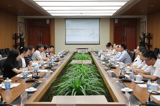 余红辉副总经理会见中关村管委会副主任宣鸿 - tianyawangzhe1985 - tianyawangzhe1985的博客